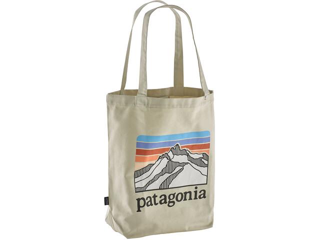 Patagonia Market Bolsa, line logo ridge/bleached stone